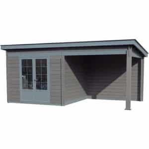 Avis abri de jardin toit plat Pool House