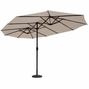Avis parasol déporté double Sekey