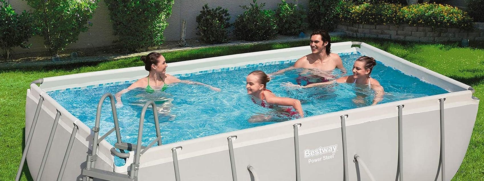 Comparatif pour choisir la meilleure piscine tubulaire rectangulaire