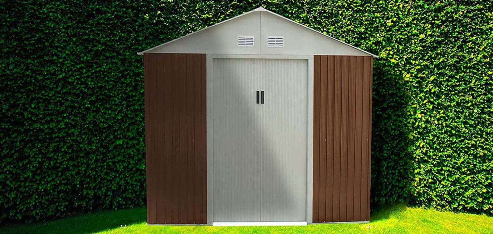 Comparatif pour choisir le meilleur abri de jardin en métal