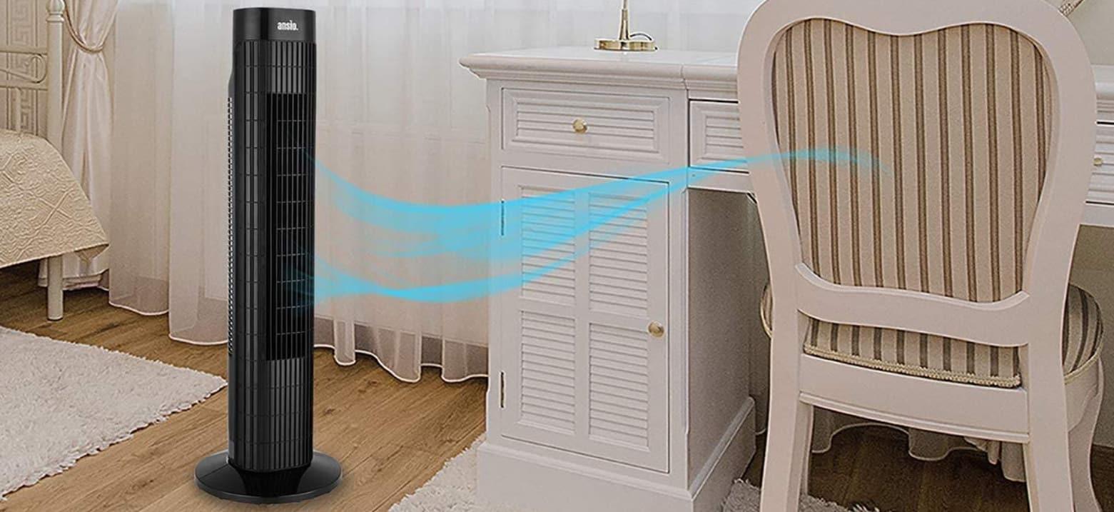 Comparatif pour choisir le meilleur ventilateur colonne