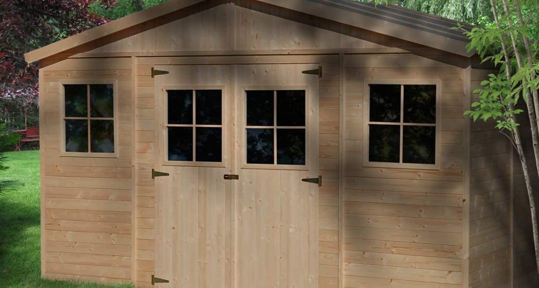 Meilleur abri de jardin en bois 1