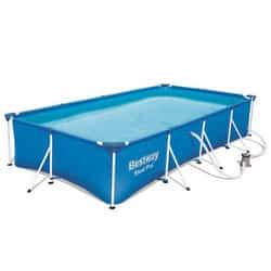 Test piscine tubulaire rectangulaire Bestway FAC56424