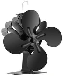 Test ventilateur de poêle à bois Preup
