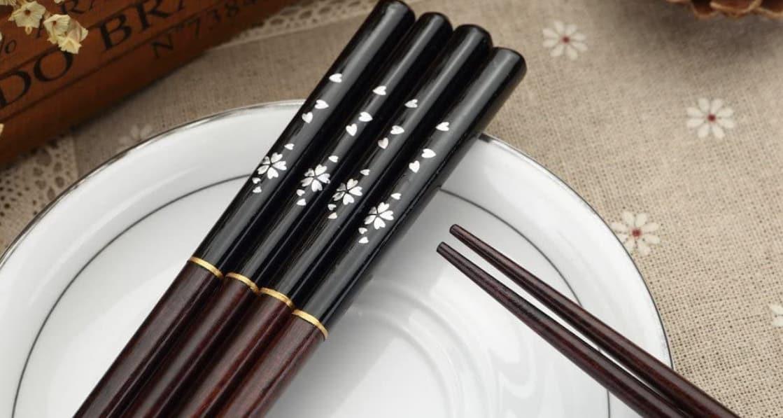 Meilleures baguettes chinoises réutilisables 1