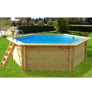 Test et avis sur la piscine hors sol en bois Hawai