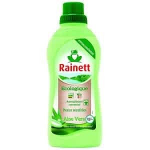 Test et avis sur l'assouplissant écologique à l'aloe vera Rainett