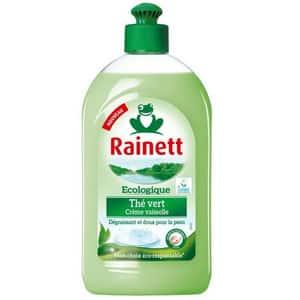 Test et avis sur le liquide vaisselle écologique Rainett Thé vert