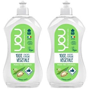 Test et avis sur le liquide vaisselle écologique YOU