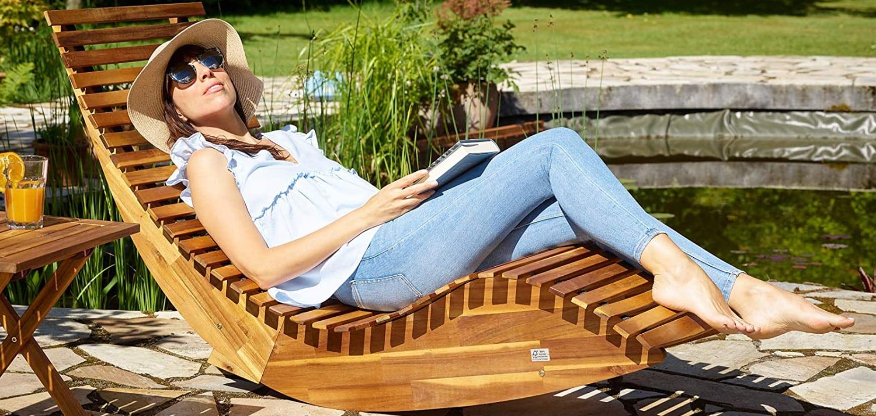 Comparatif pour choisir le meilleur bain de soleil en bois