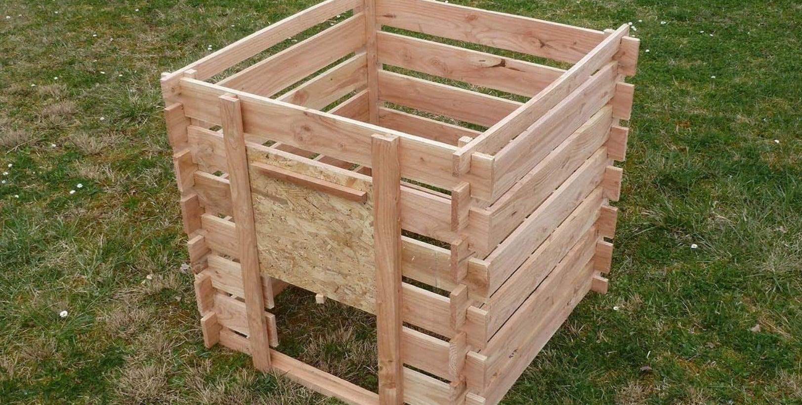 Comparatif pour choisir le meilleur composteur en bois