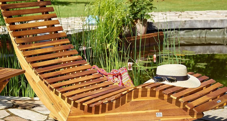 Meilleur bain de soleil en bois