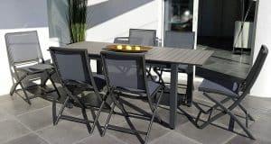 Meilleure table de jardin extensible