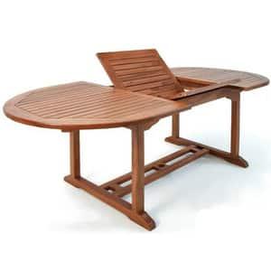 Test et avis sur la table de jardin extensible en bois d'eucalyptus Vanamo