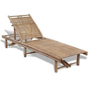 Test et avis sur le bain de soleil en bois de bambou