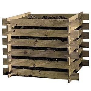 Test et avis sur le composteur en bois Tiktaktoo