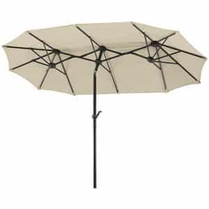 Test et avis sur le parasol rectangulaire Schneider 746-02