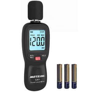 Test et avis sur le sonomètre décibelmètre Meterk