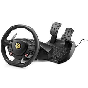 Test et avis sur le volant PS4 Thrustmaster T80 Ferrari 488 GTB Edition