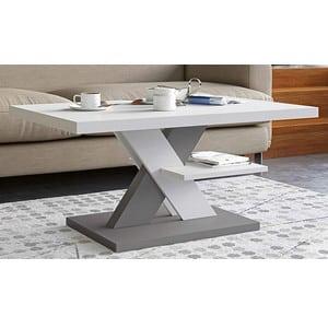 Test et avis sur la table basse laquée avec étagère Viosimc