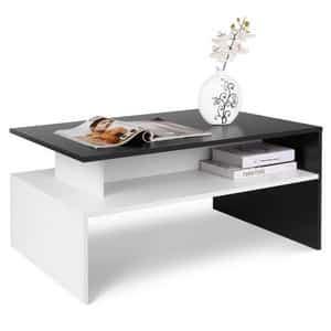Test et avis sur la table basse laquée design Homfa