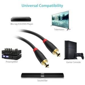 Cable Optique Audio Numérique