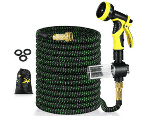 Test et avis sur le tuyau d'arrosage extensible 30 mètres Uverbon