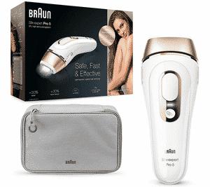 Test et avis sur l'épilateur à lumière pulsée pour peau mate Braun Silk Expert Pro 5 PL5014