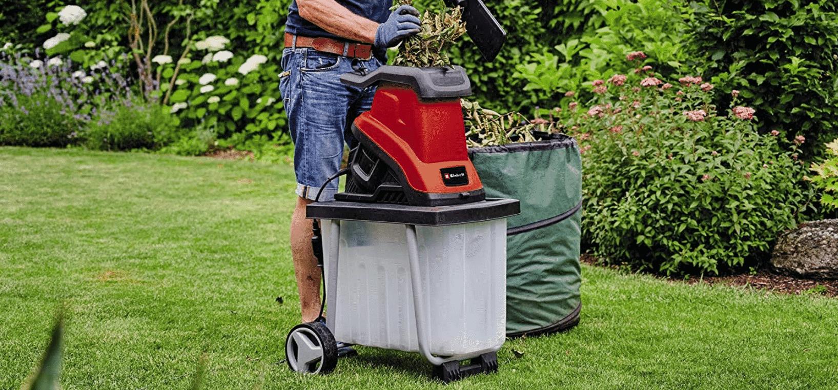 Comparatif pour choisir le meilleur broyeur de végétaux électrique Einhell