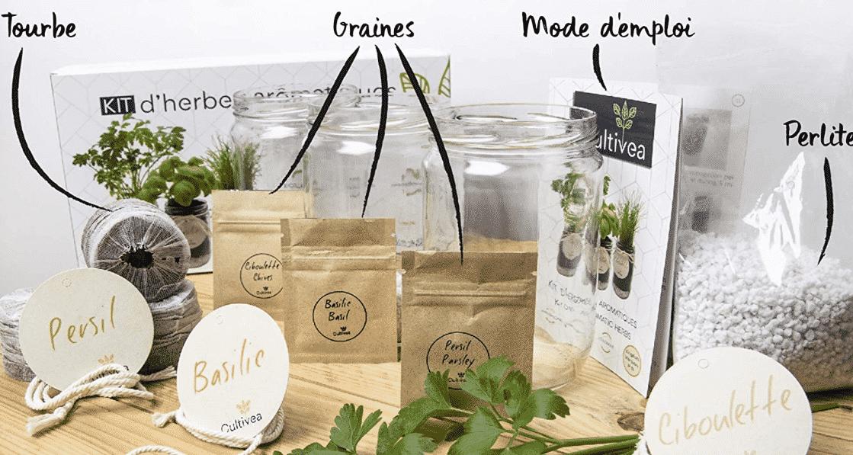 Comparatif pour choisir le meilleur kit prêt à pousser d'herbes aromatiques