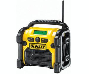 Test et avis sur la radio chantier DeWalt DCR019