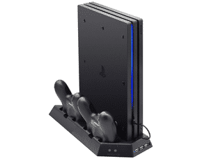 Test et avis sur la station de charge PS4 Pro Fastnail