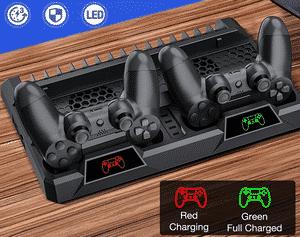 Test et avis sur la station de charge PS4 avec ventilateur Beboncool