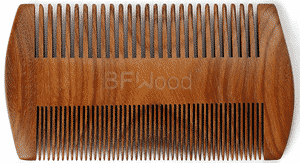 Test et avis sur le peigne à barbe BFWood