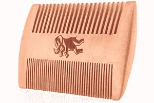 Test et avis sur le peigne à barbe en bois Camden Barbershop Company