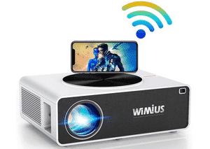 Test et avis sur le vidéoprojecteur pour smartphone WiMiUS Full HD