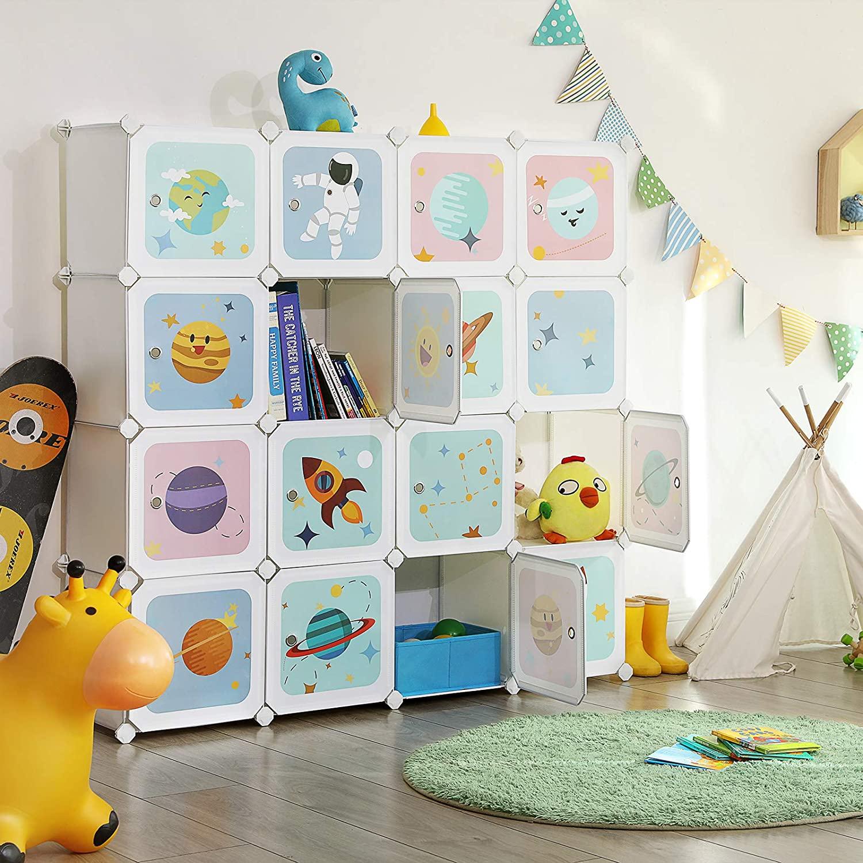 armoire bébé modulable Songmics LPC902W