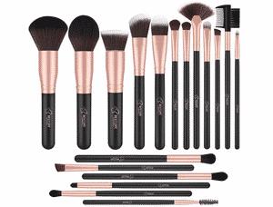 Test et avis sur le kit pinceaux maquillage Bestope