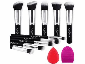 Test et avis sur le kit pinceaux maquillage professionnel Beakey